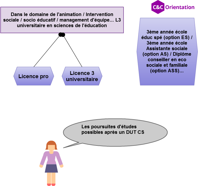 formations après un dut CS et options